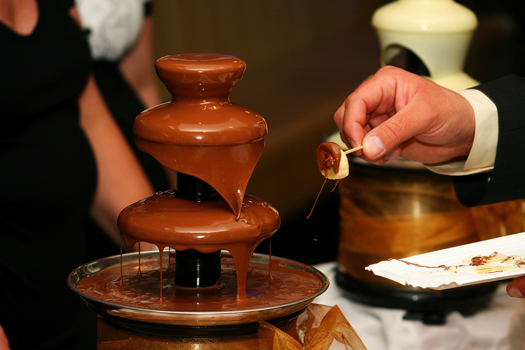 atrakcje weselne czekolada